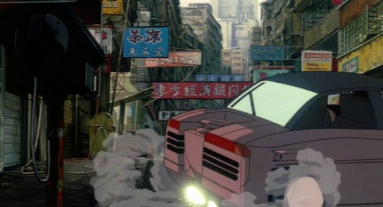 Alfa Romeo SZ Ghost in the Shell