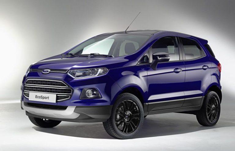 Nuova Ford Ecosport: tutte le caratteristiche della versione restyling
