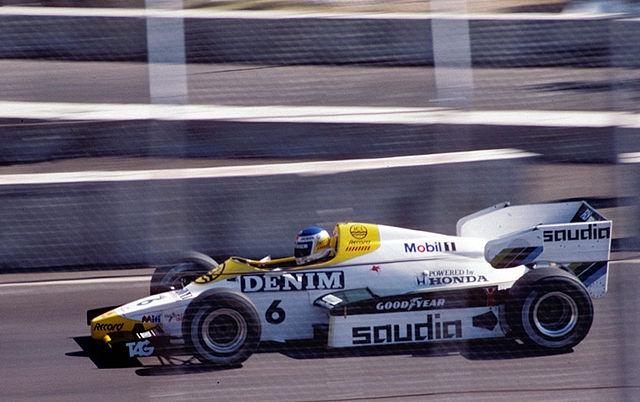 Keke Rosberg sulla Williams nel 1984