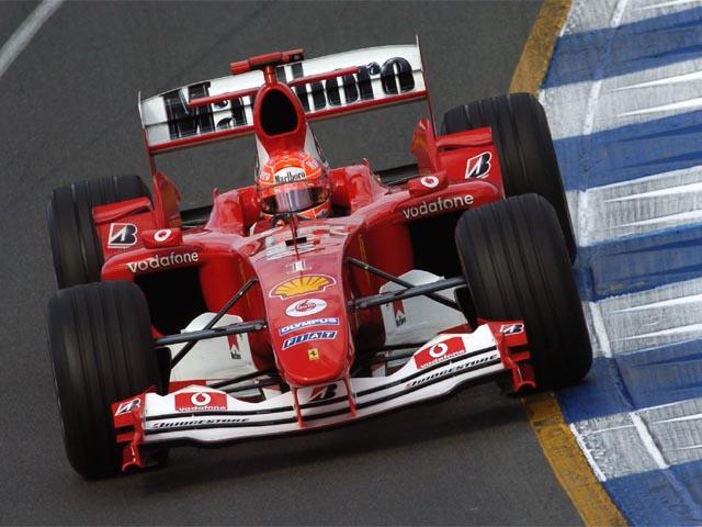 Ferrari F2004, M.Schumacher - Melbourne 2004