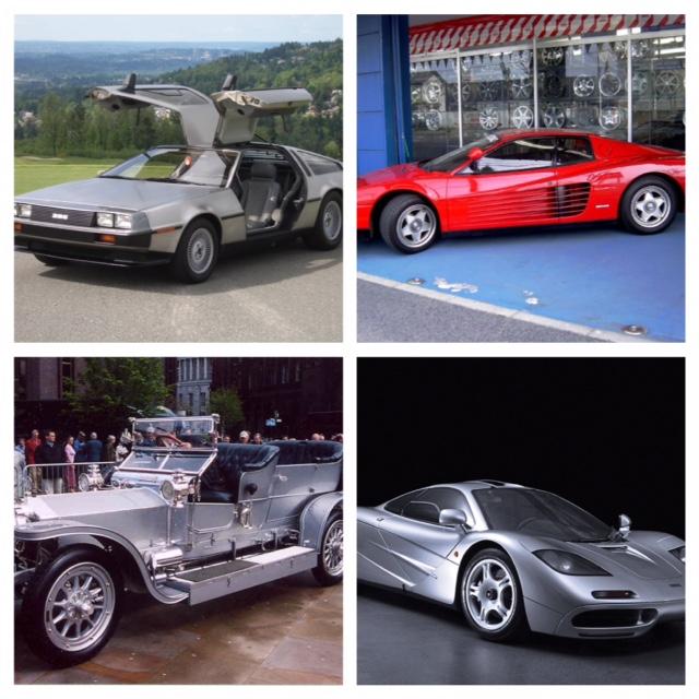 Le auto più belle della storia