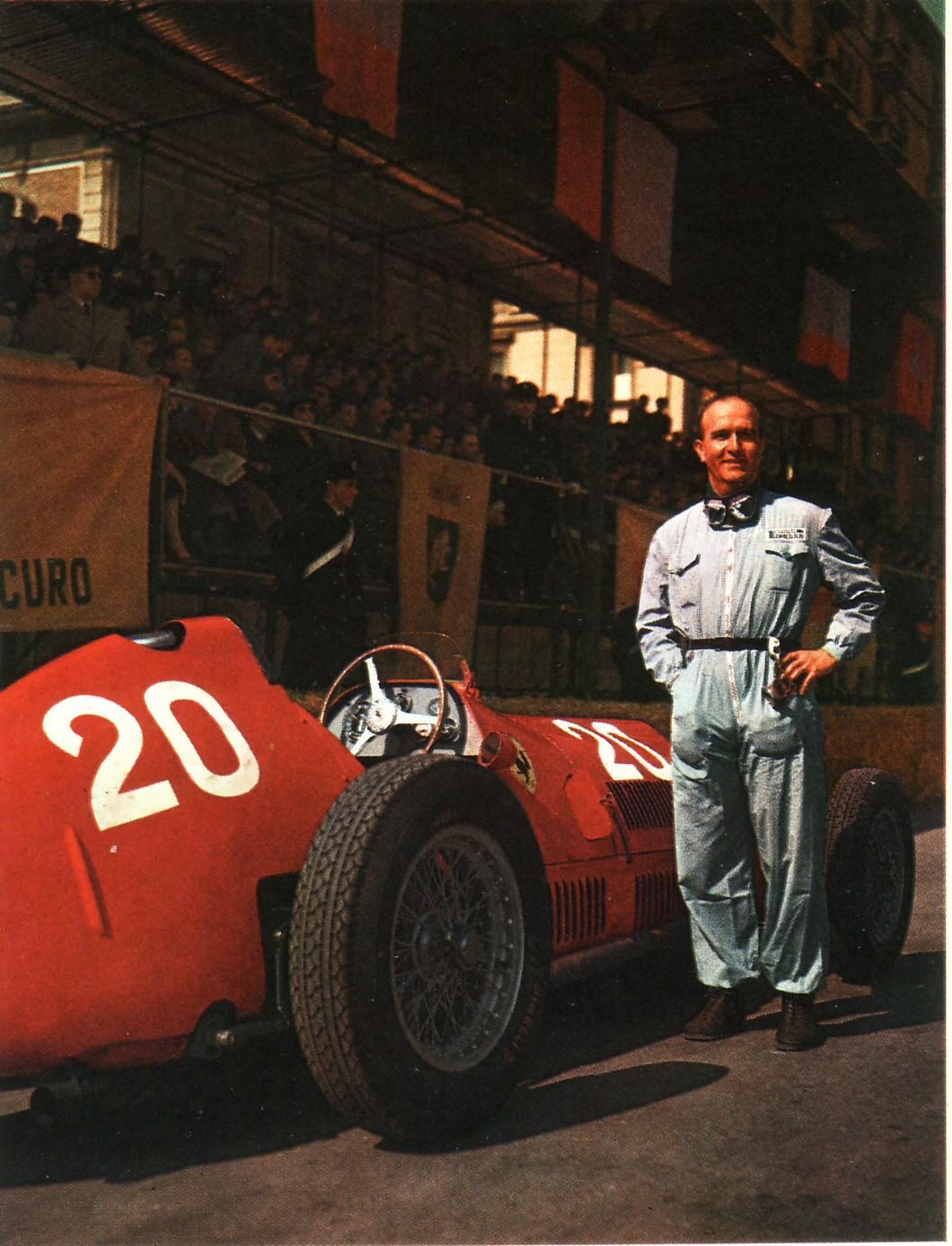 Nino Farina e la sua Alfa Romeo