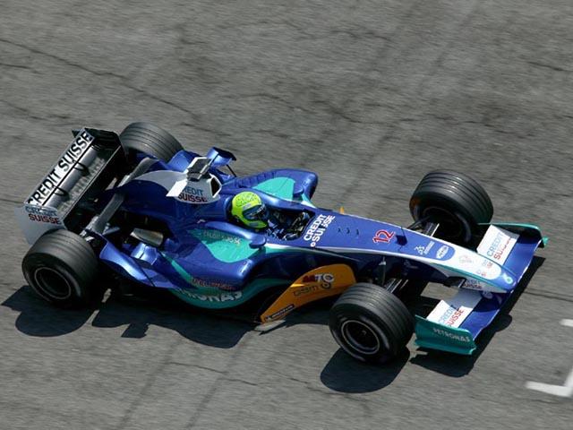 Alla Sauber nel 2005