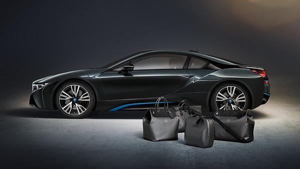 BMW e Louis Vuitton s'incontrano…nel bagagliaio della i8