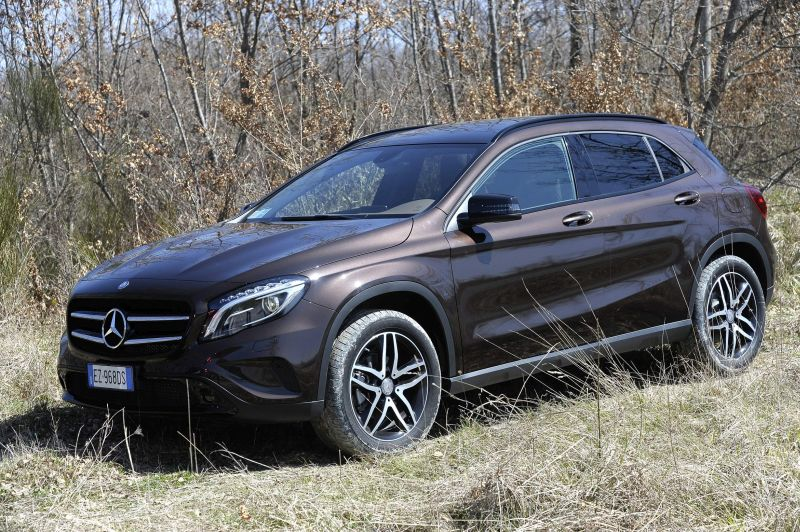 Mercedes GLA Enduro