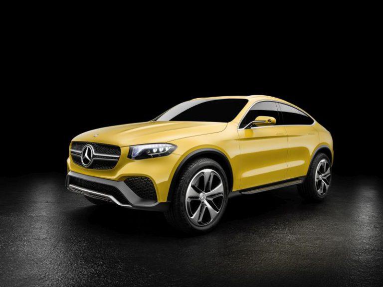Nuova Mercedes GLC Coupé: tutte le caratteristiche della concept car con la carrozzeria SUV coupé