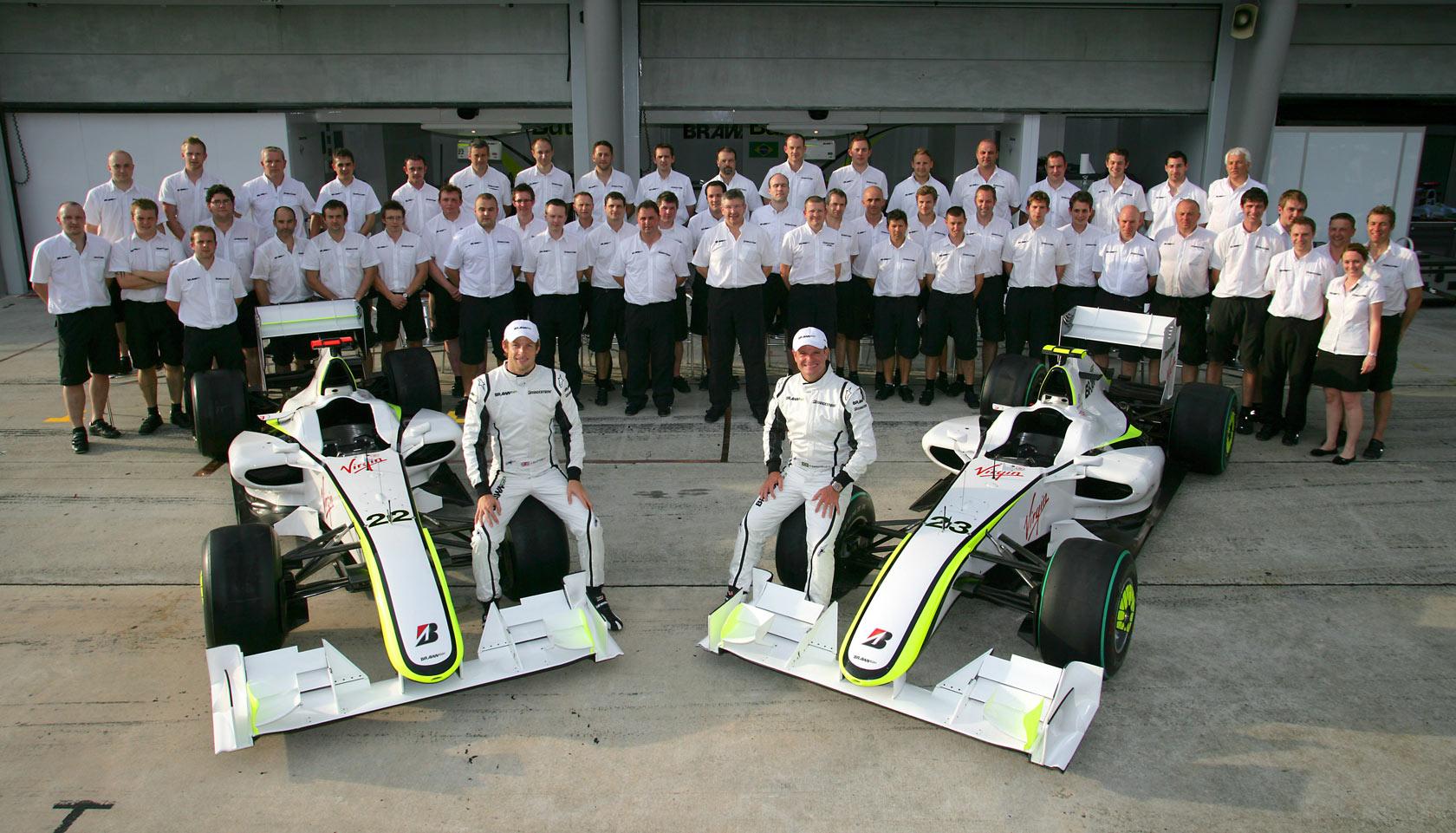 La Brawn GP nel 2009