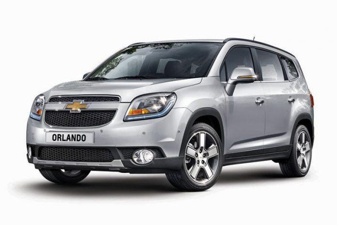Chevrolet Orlando 2015 prezzo