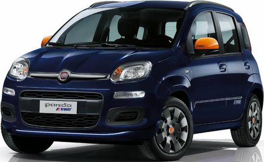 Fiat Panda K-Way prezzo