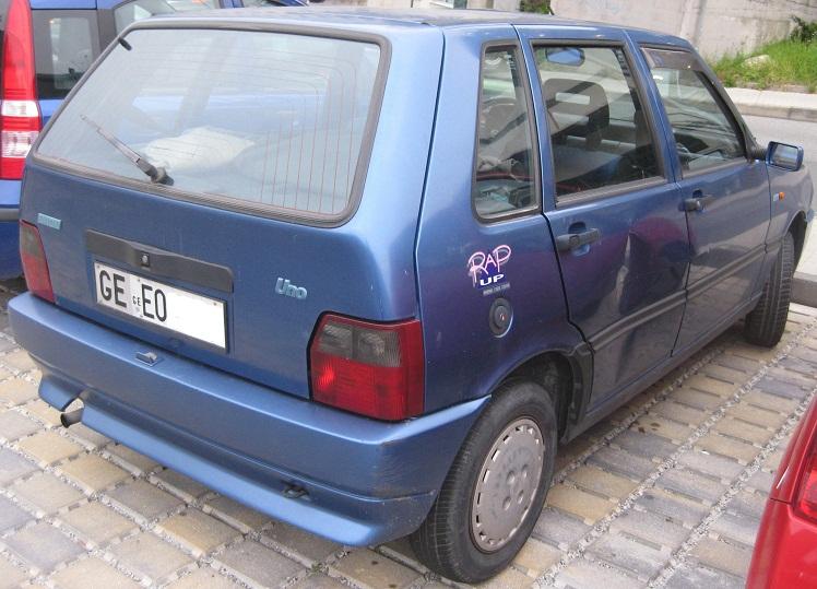 Fiat Uno Rap Up Dj Ax