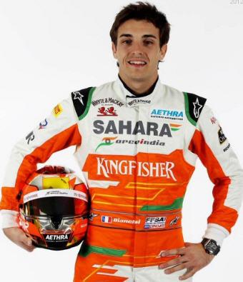 Jules Bianchi, 2012