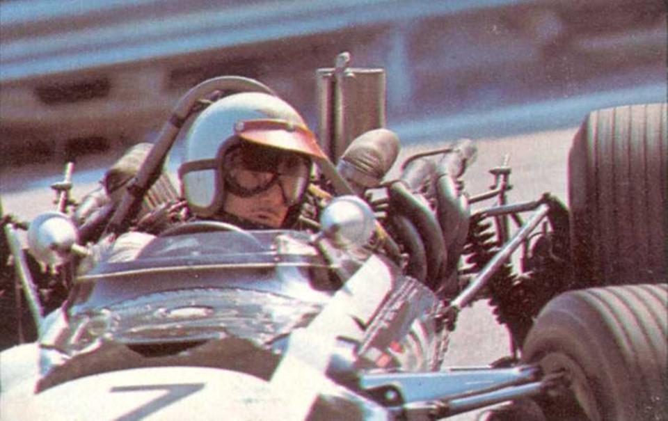 Lucien Bianchi nel 1968