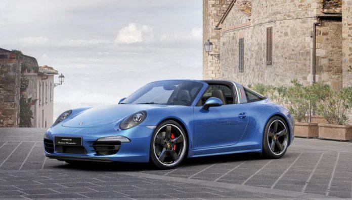 Porsche 911 Targa 4S 30 anni di Porsche Italia