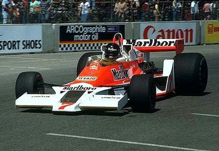 McLaren M26, Hunt - Australia 1978