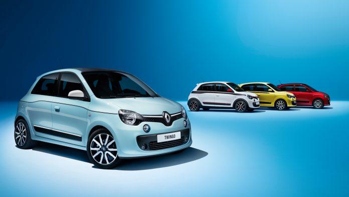 Nuova Renault Twingo prova su strada