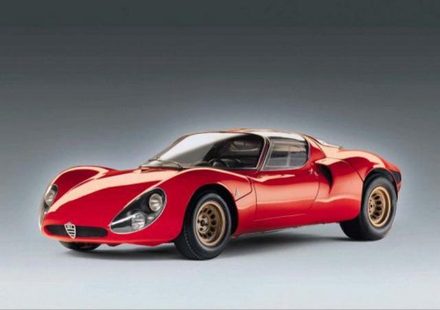 Cinque cose che forse non sai sull'Alfa Romeo 33