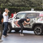 Jeep Renegade tatuata