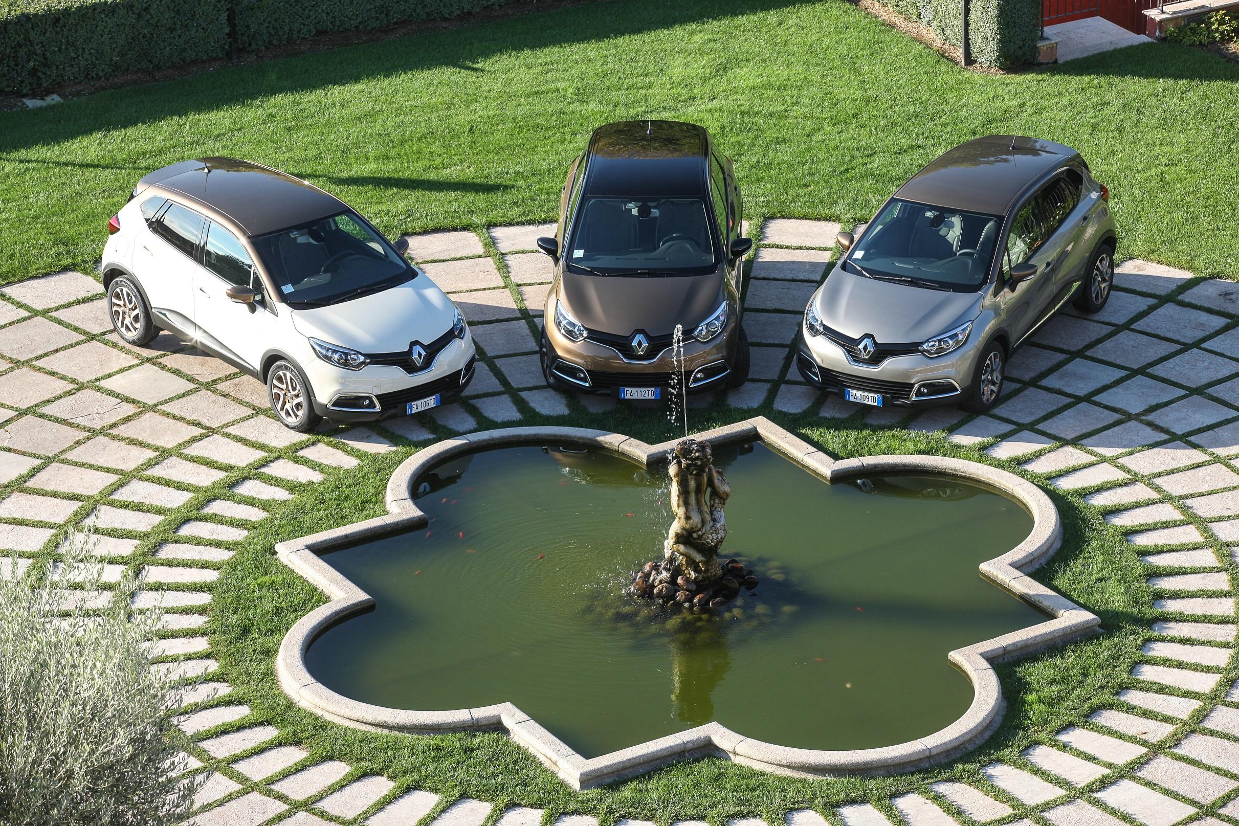 Renault captur iconic ed excite i prezzi for Captur excite