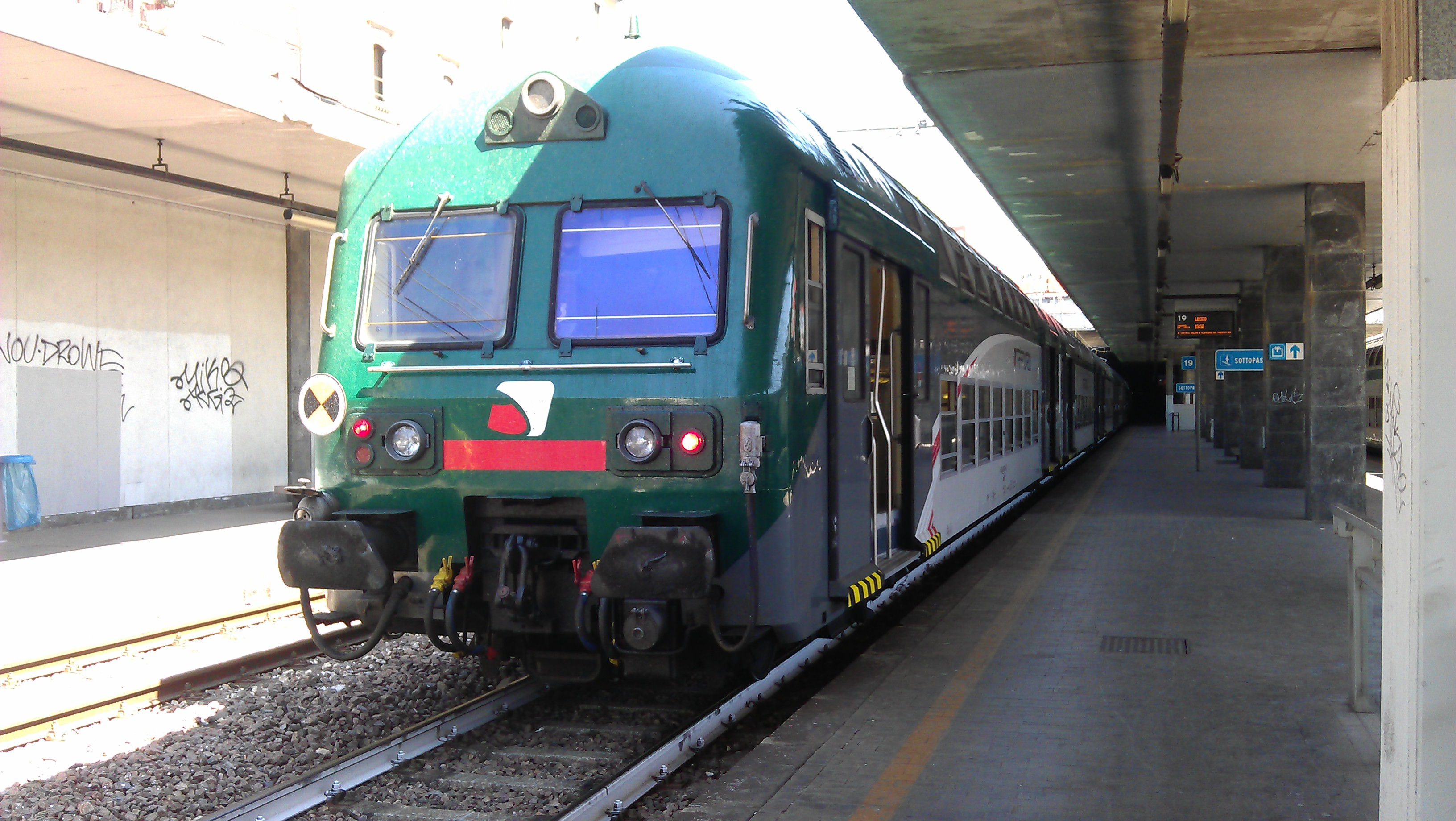 Sciopero trasporti dicembre 2015 tutte le date di treni - Treno milano porta garibaldi bergamo ...