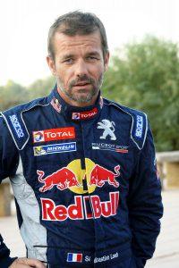 Loeb con i colori Peugeot