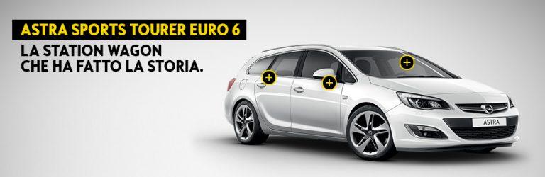 Opel Astra station wagon: gamma, offerta 2016, prezzi e tecnologia