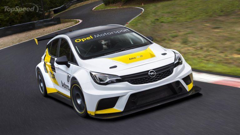 Nuova Opel Astra TCR 2016: una super aerodinamica per le gare da turismo