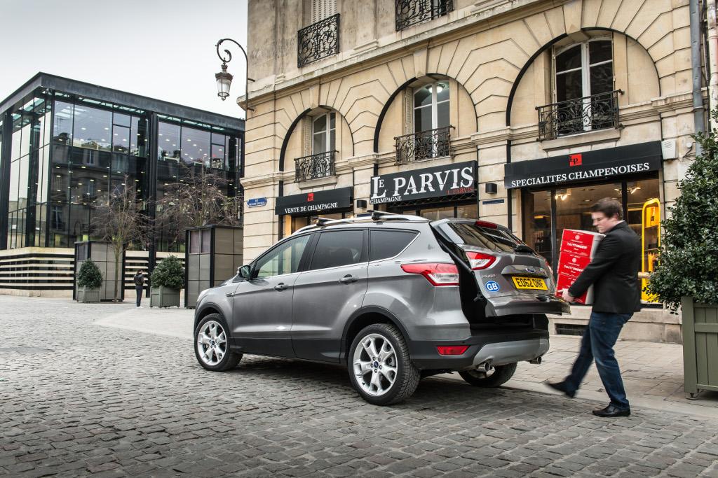 Ford Kuga 2016 prova su strada: commenti, impressioni ...