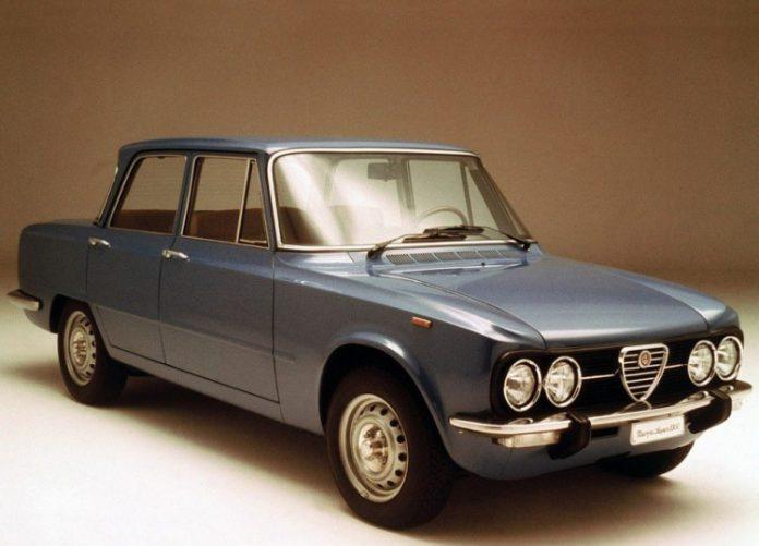 Alfa Romeo Giulia d'epoca