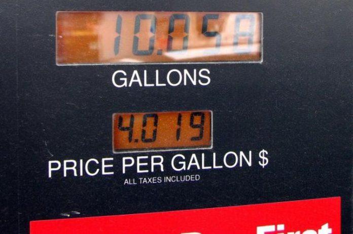 costo benzina usa