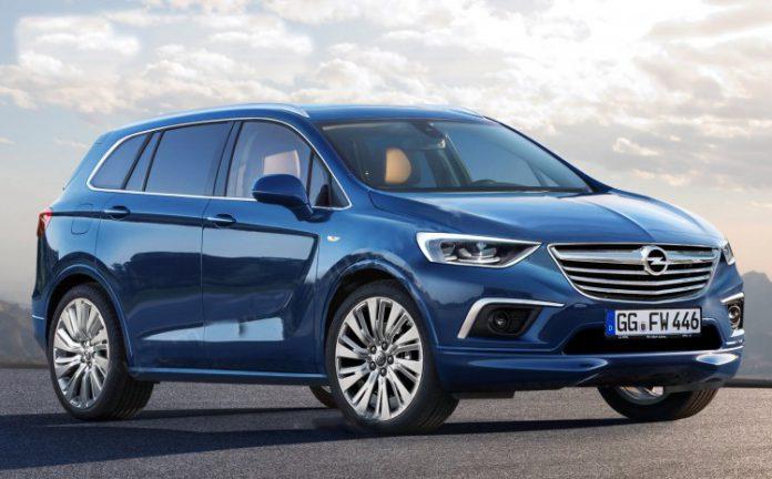 Nuova Opel Zafira 2016