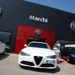 Consegna autovettura Giulia presso concessionaria Marchi Perugia