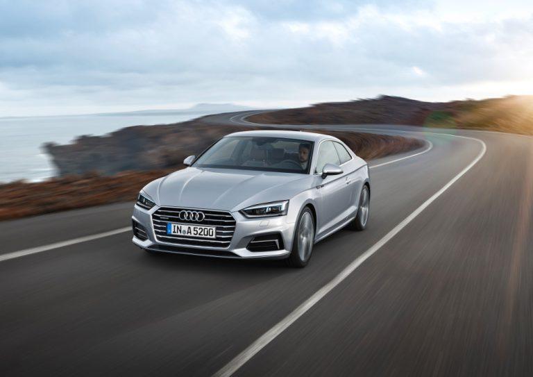 Audi A5 coupé: coraggiosa, sofisticata e altamente competitiva