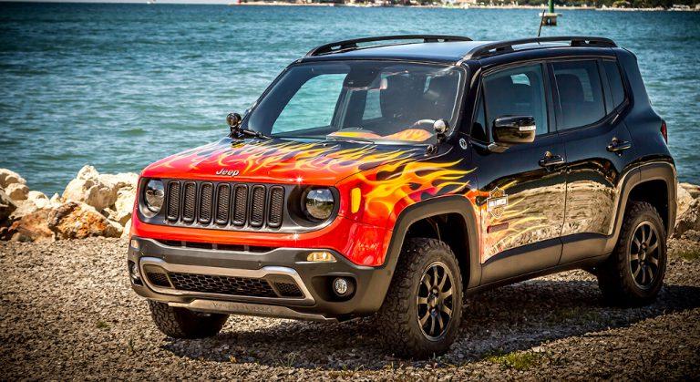 Jeep Renegade Hell's Revenge: show car, di mezzo c'è lo zampino di Lapo Elkann