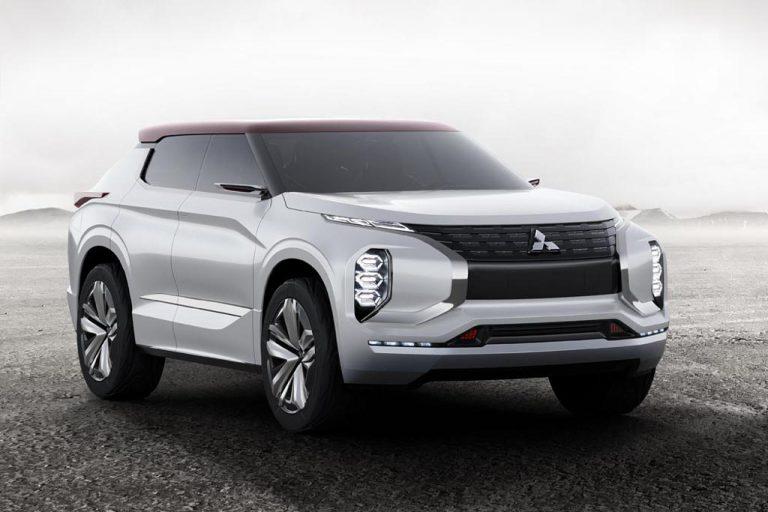 Mitsubishi GT-PHEV Concept: il SUV che strabilia con quattro motori