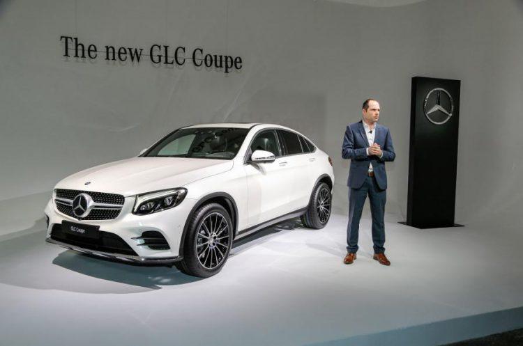 Nuovo Mercedes-Benz GLC Coupè