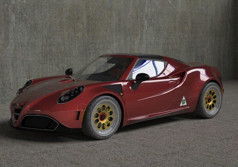 Alfa Romeo 4C by Romeo Ferraris: l'elaborazione a tinte tricolori