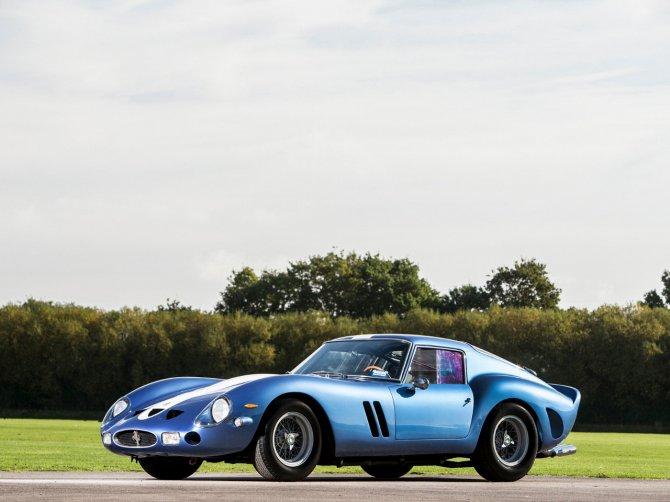Ferrari 250 GTO del 1962: prezzo record di 55 milioni di dollari