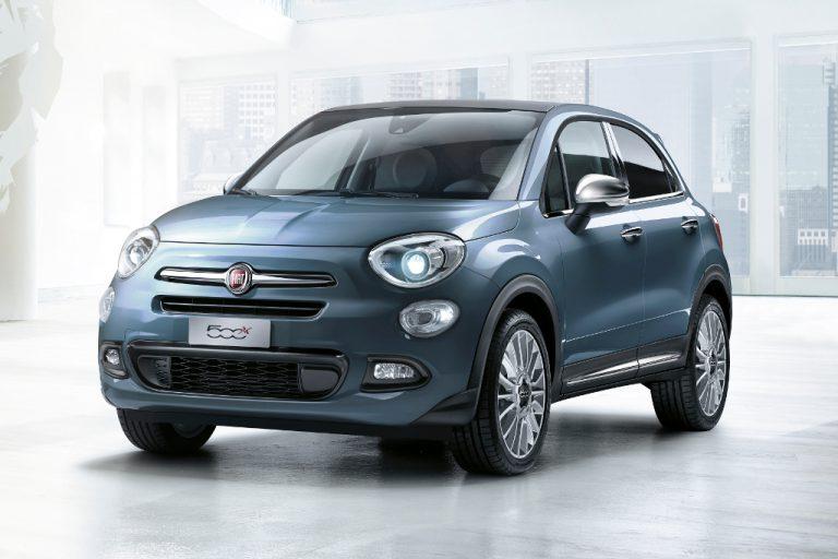 Fiat 500X: ritocchi estetici e nuovi equipaggiamenti