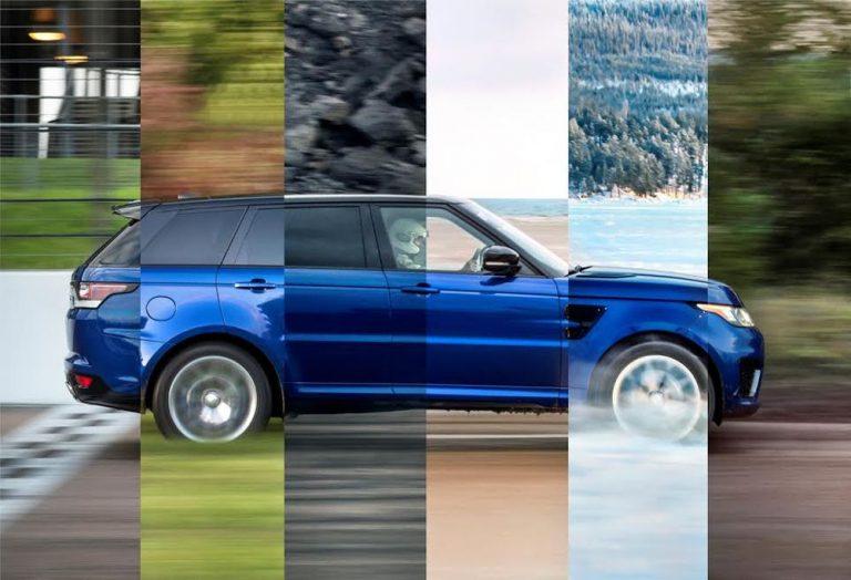 Range Rover Sport SVR: trazione e accelerazioni massime su ogni superficie