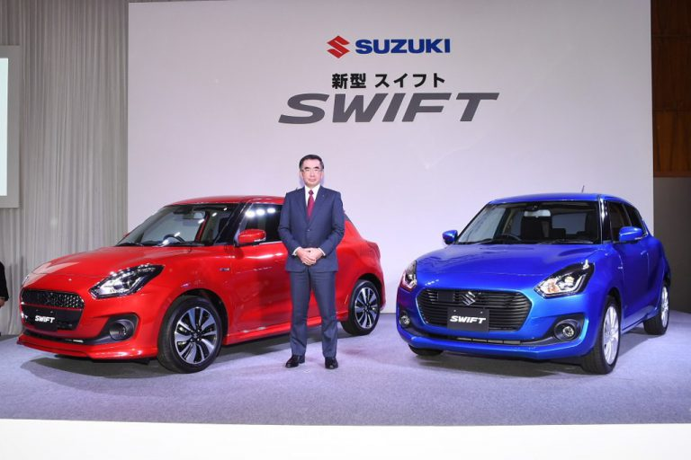 Suzuki Swift: rivelata la gamma 2017