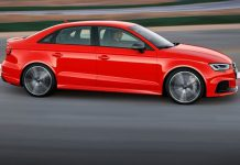 Nuova Audi RS3 Sedan e Sportback 2017