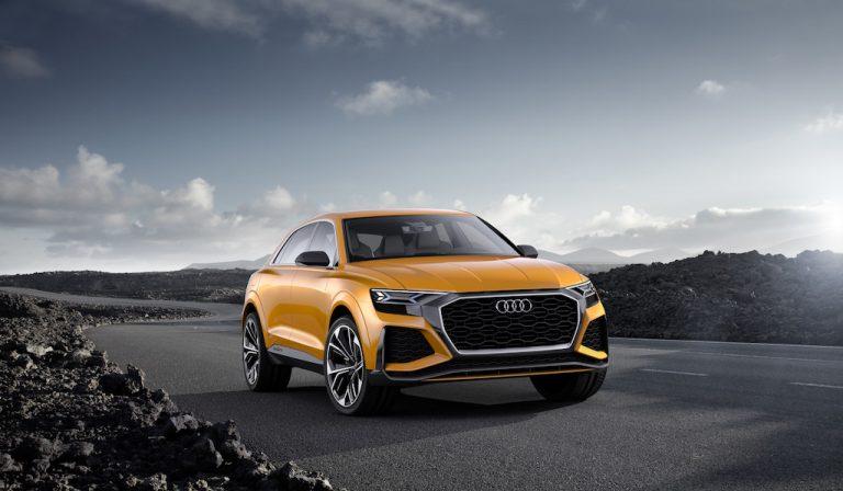 Audi Q8 sport concept: Suv ibrido