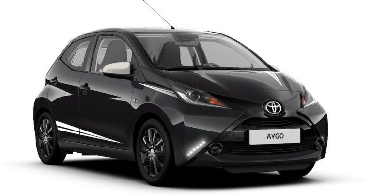 Toyota Aygo X-Black: la city car in edizione limitata