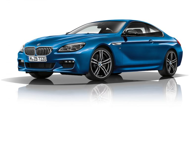"BMW Serie 6 M Sport Limited Edition: sportiva in tinta ""Sonic Speed Blue"""