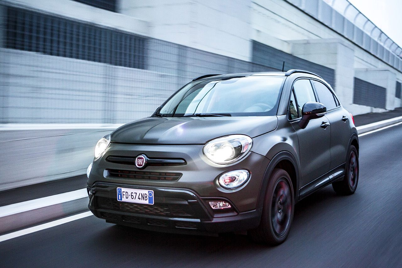 nuova fiat 500 x s design il crossover compatto si rinnova via agli ordini. Black Bedroom Furniture Sets. Home Design Ideas