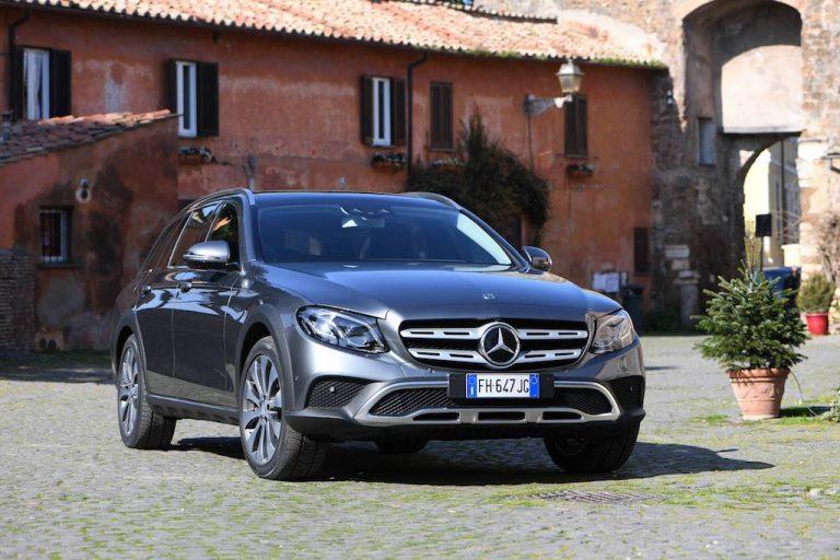 Mercedes-Benz Classe E All-Terrain: station wagon d'ispirazione off-road