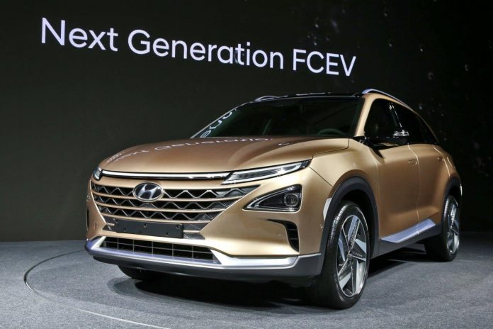 SUV Hyundai Fuel Cell