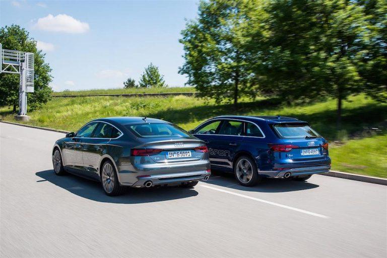 Audi A4 Avant e A5 Sportback: il nuovo motore da 170 cavalli