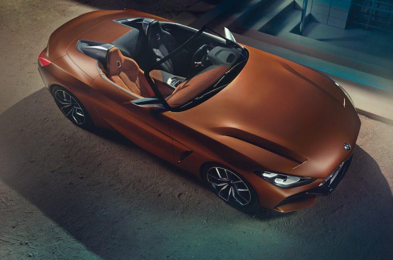BMW Z4 Concept: la spider che cattura al primo sguardo