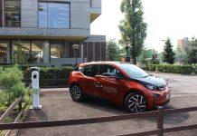 auto elettrica a Milano